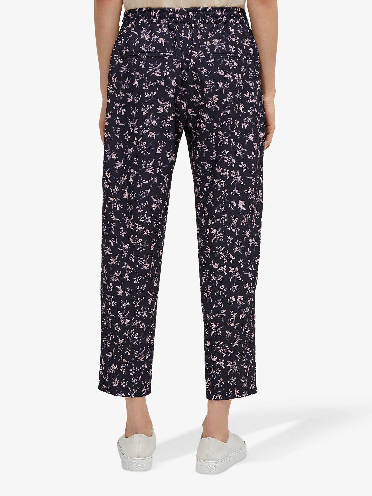 Buy French Connection Felicienne Jogger Trousers, Navy Multi, 12 Online at johnlewis.com