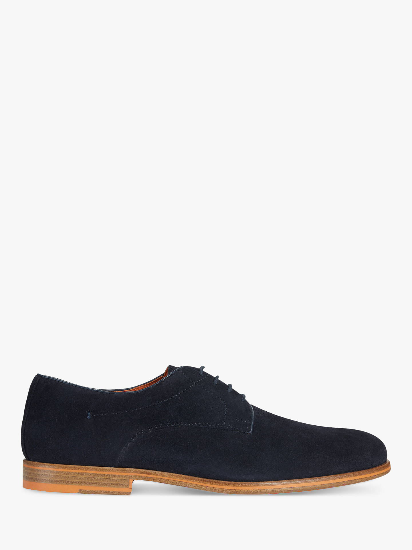 c850442bbf Buy Geox Bayle Suede Derby Shoes, Navy, 10 Online at johnlewis.com ...