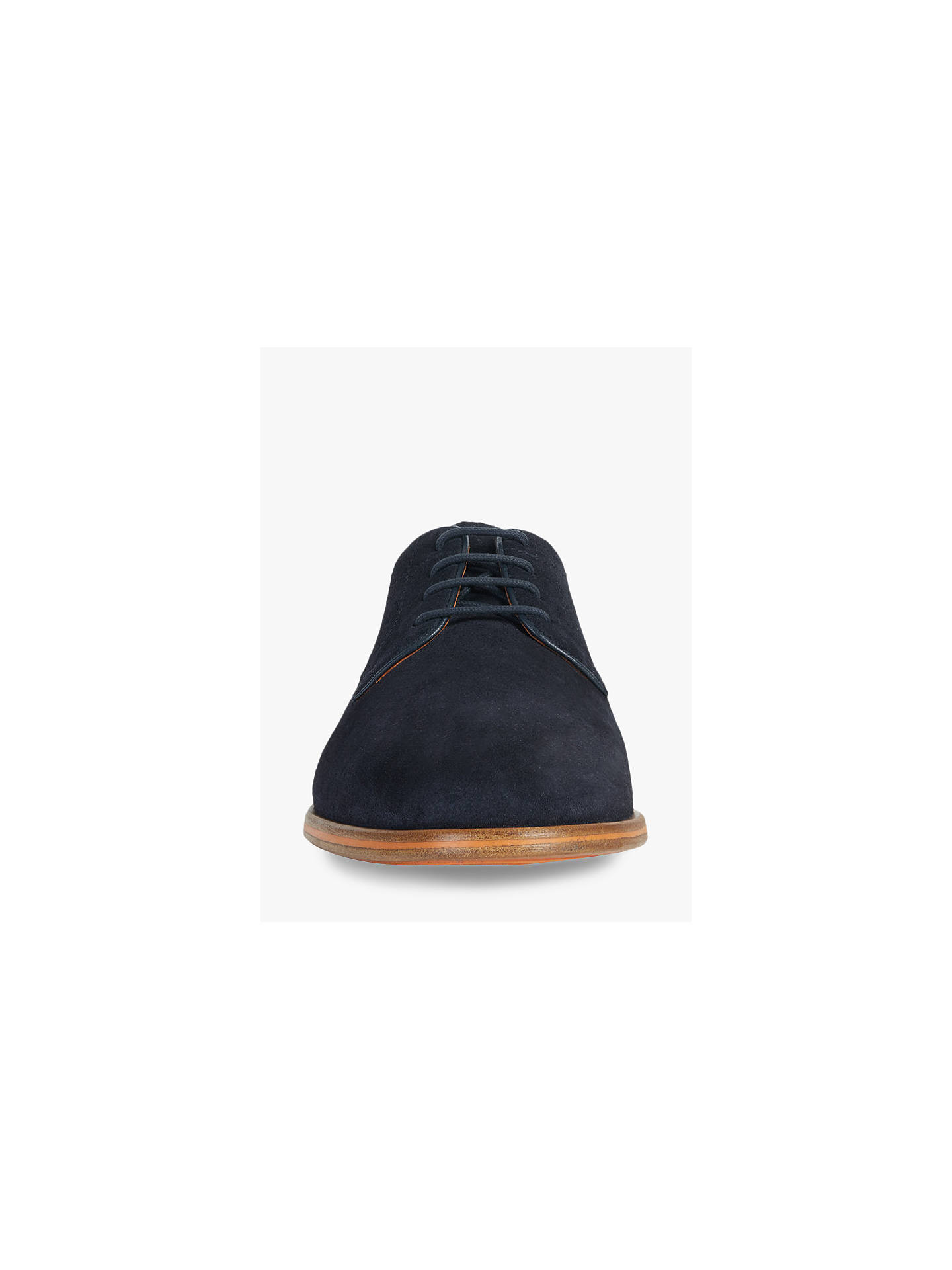 69f91b32d1 ... Buy Geox Bayle Suede Derby Shoes, Navy, 10 Online at johnlewis.com ...