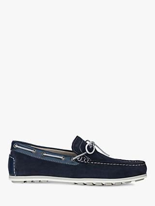 cedcbcebf8 Geox Mirvin Suede Loafers