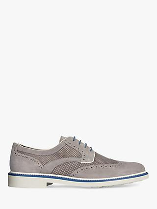 Geox Silmor Suede Derby Shoes