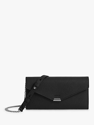 AllSaints Captain Chain Leather Purse