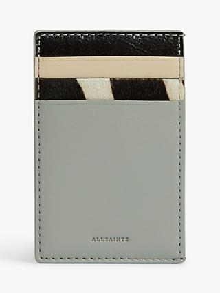 d5c65213278 AllSaints Clip Block Leather Card Holder