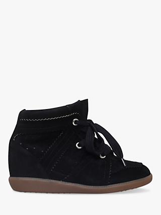 9bd4c9d688d490 Isabel Marant Bobby Concealed Wedge Heel Trainers