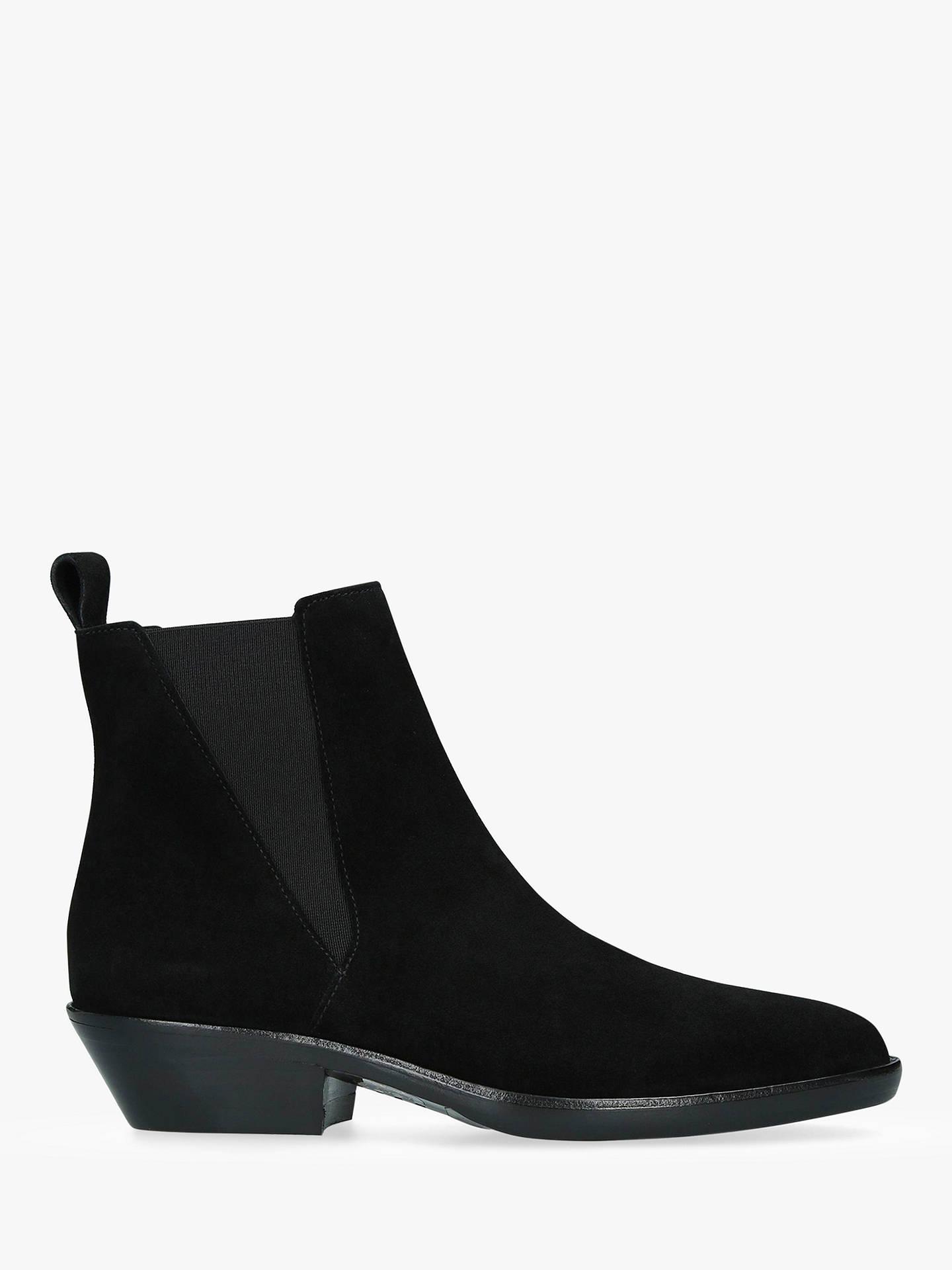 separation shoes 484d6 2c080 Isabel Marant Drenky Pull On Block Heel Ankle Boots, Black ...