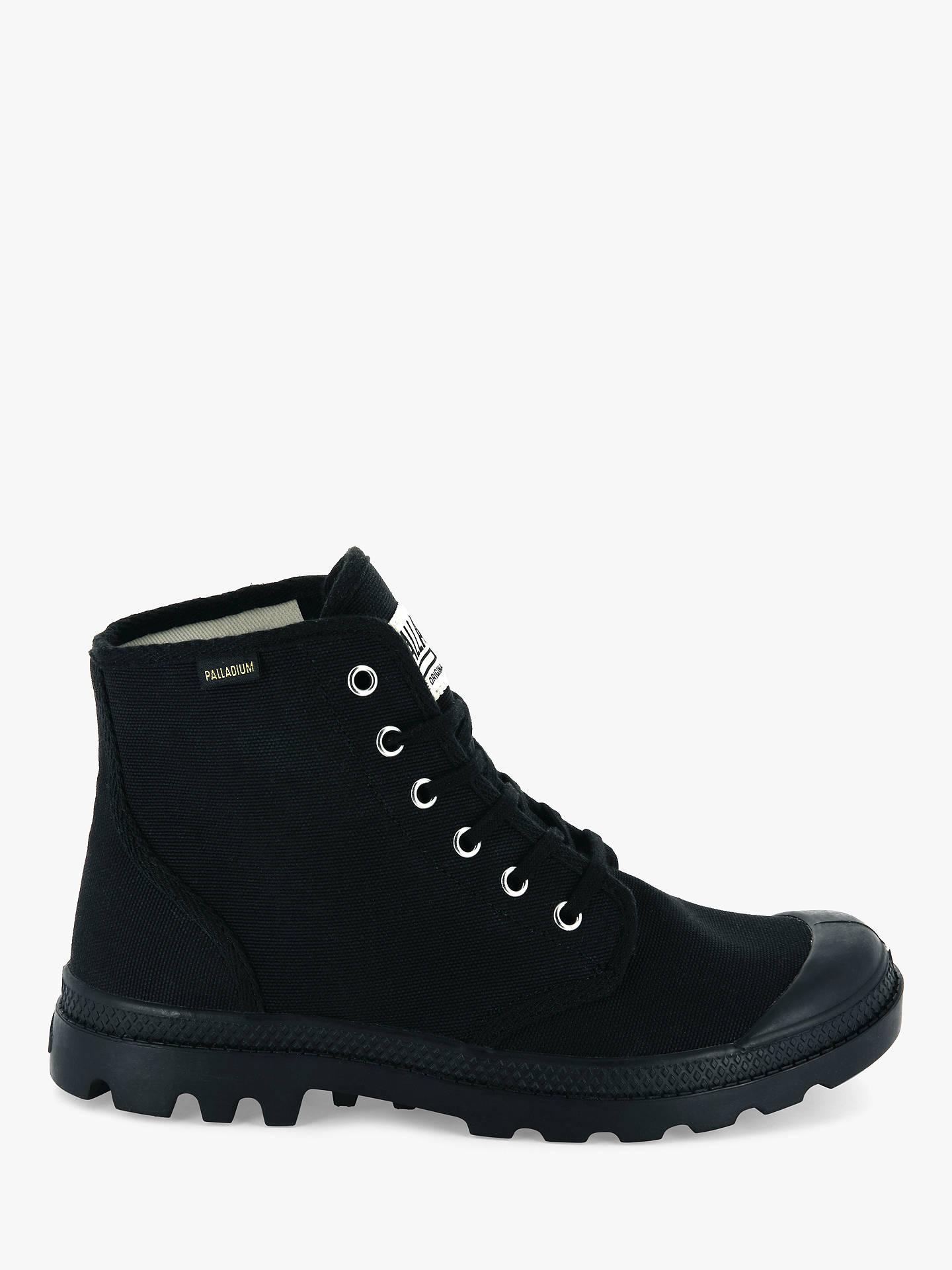 ab9de406eaa Palladium Pampa Hi Originale Canvas Boots, Black