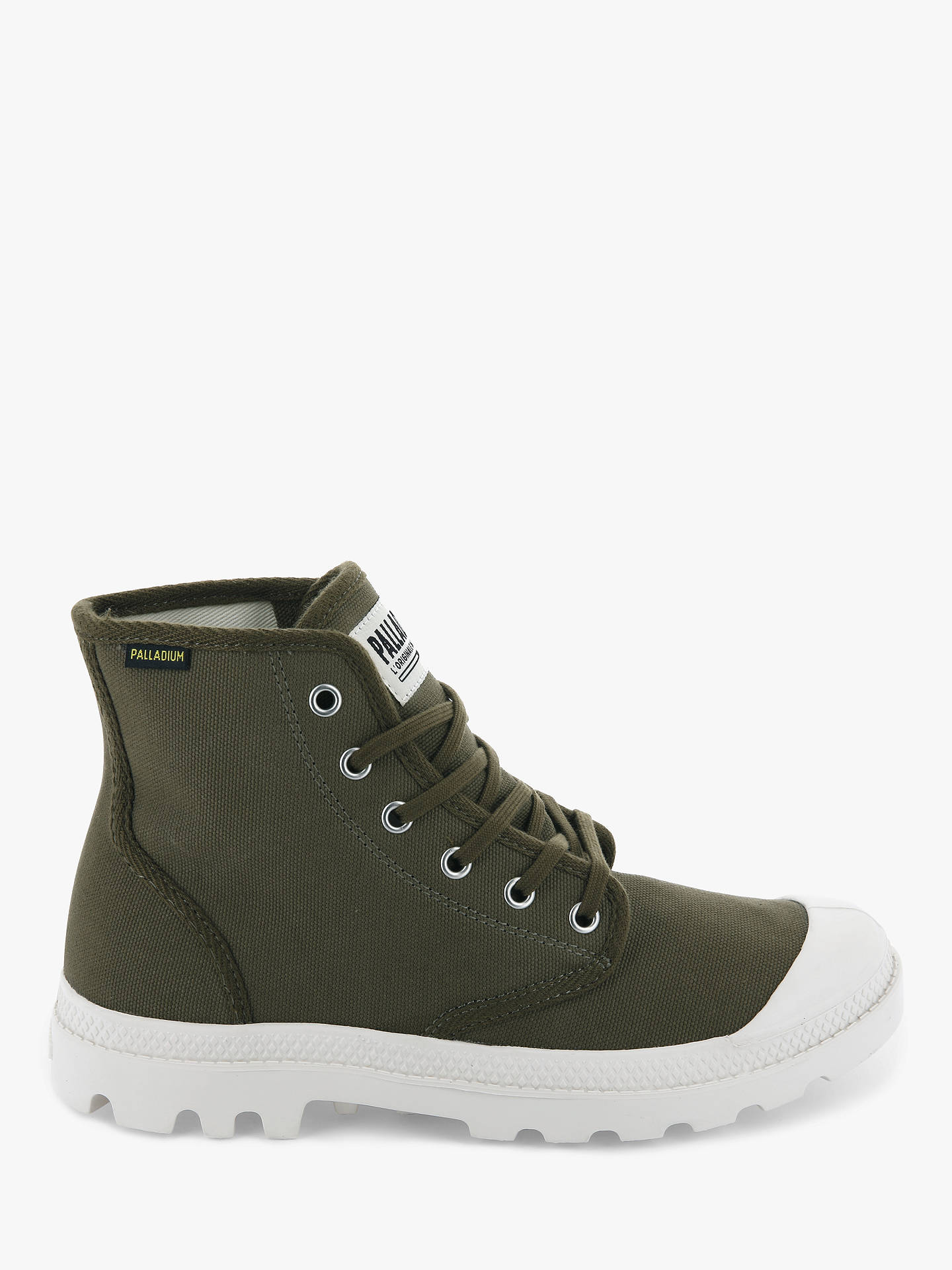 Palladium Pampa Hi Originale Canvas Boots, Military Olive at