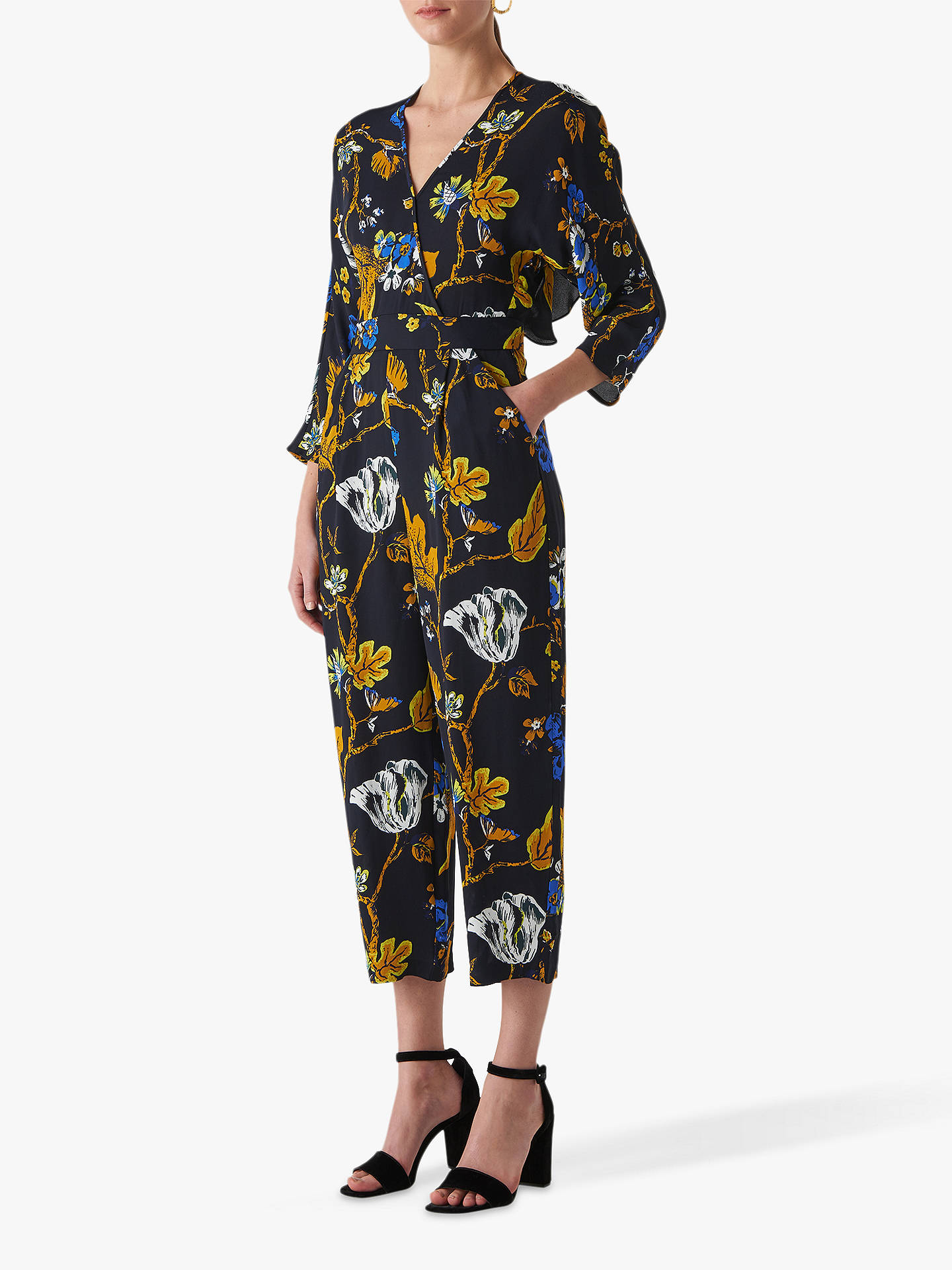 bc6f2b9e303 Buy Whistles Scarf Print Jumpsuit