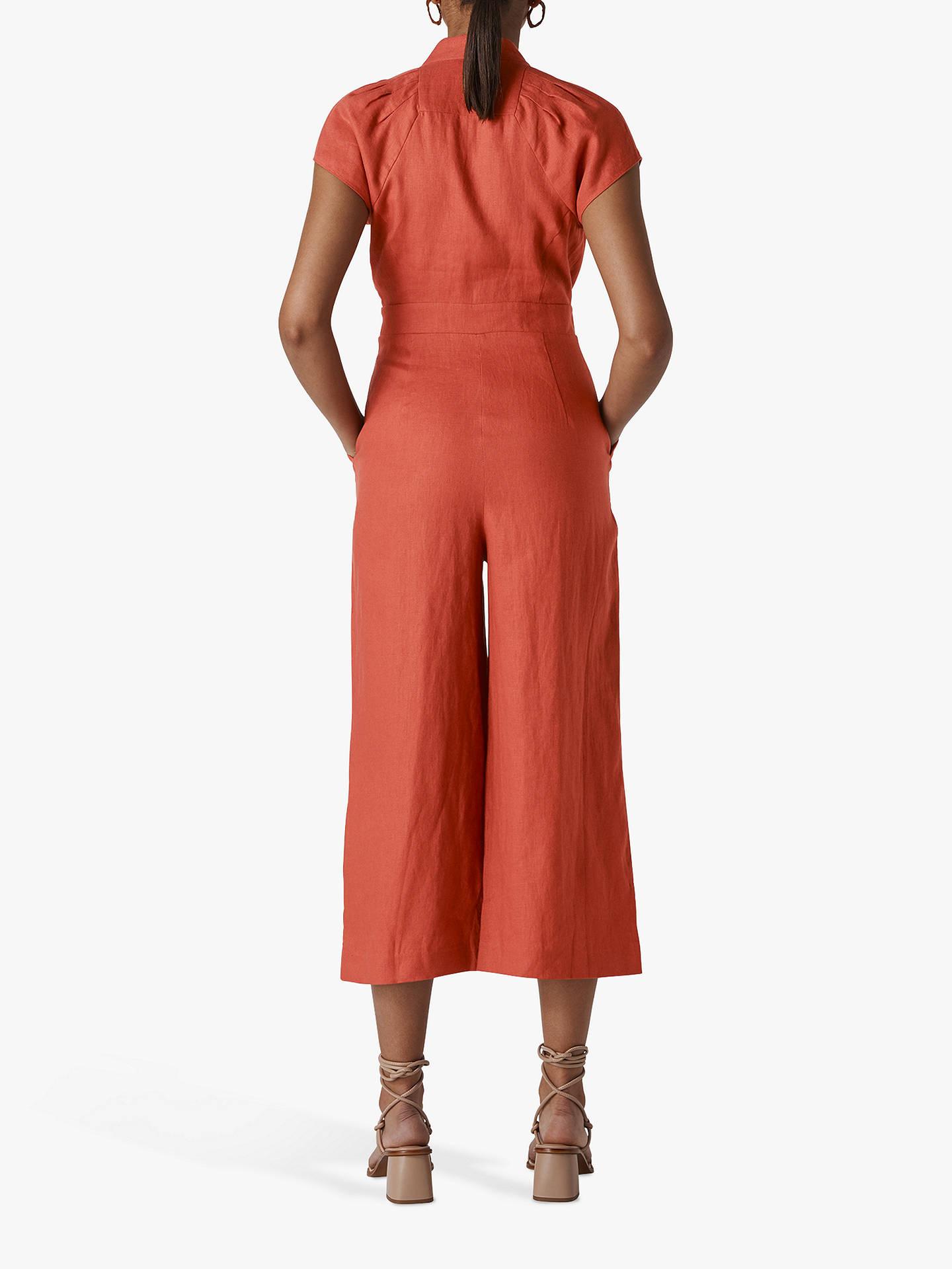 08d1034287 ... Buy Whistles Sana Linen Button Jumpsuit