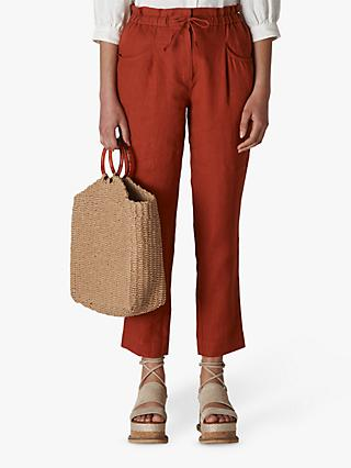 Whistles Leanora Linen Trousers