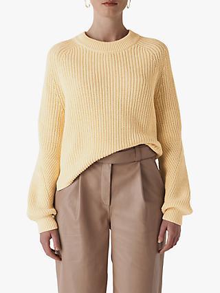 f69d7933787 Whistles Fashion Detail Cotton Knit