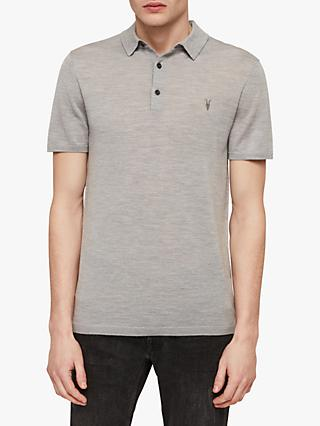 AllSaints Mode Merino Polo Shirt