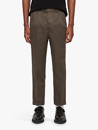 AllSaints Salco Chinos, Dusty Khaki Green