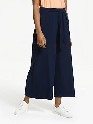 ARMEDANGELS Karolinaa Wide Leg Trousers, Dark Navy