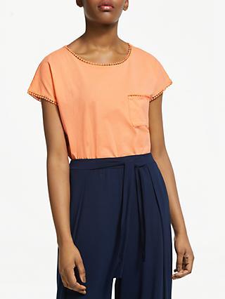 c17426af2ee93 ARMEDANGELS Klaraa Organic Cotton Trim Detail T-Shirt
