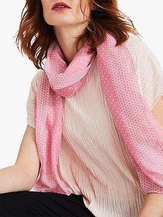 Phase Eight Lorna Sport Scarf, Pink