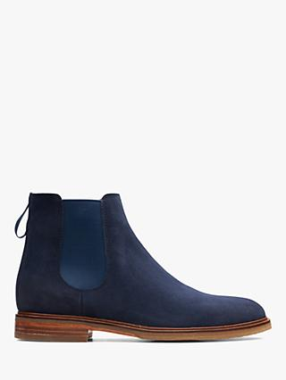 14357b17fe2505 Clarks Clarkdale Gobi Suede Chelsea Boots