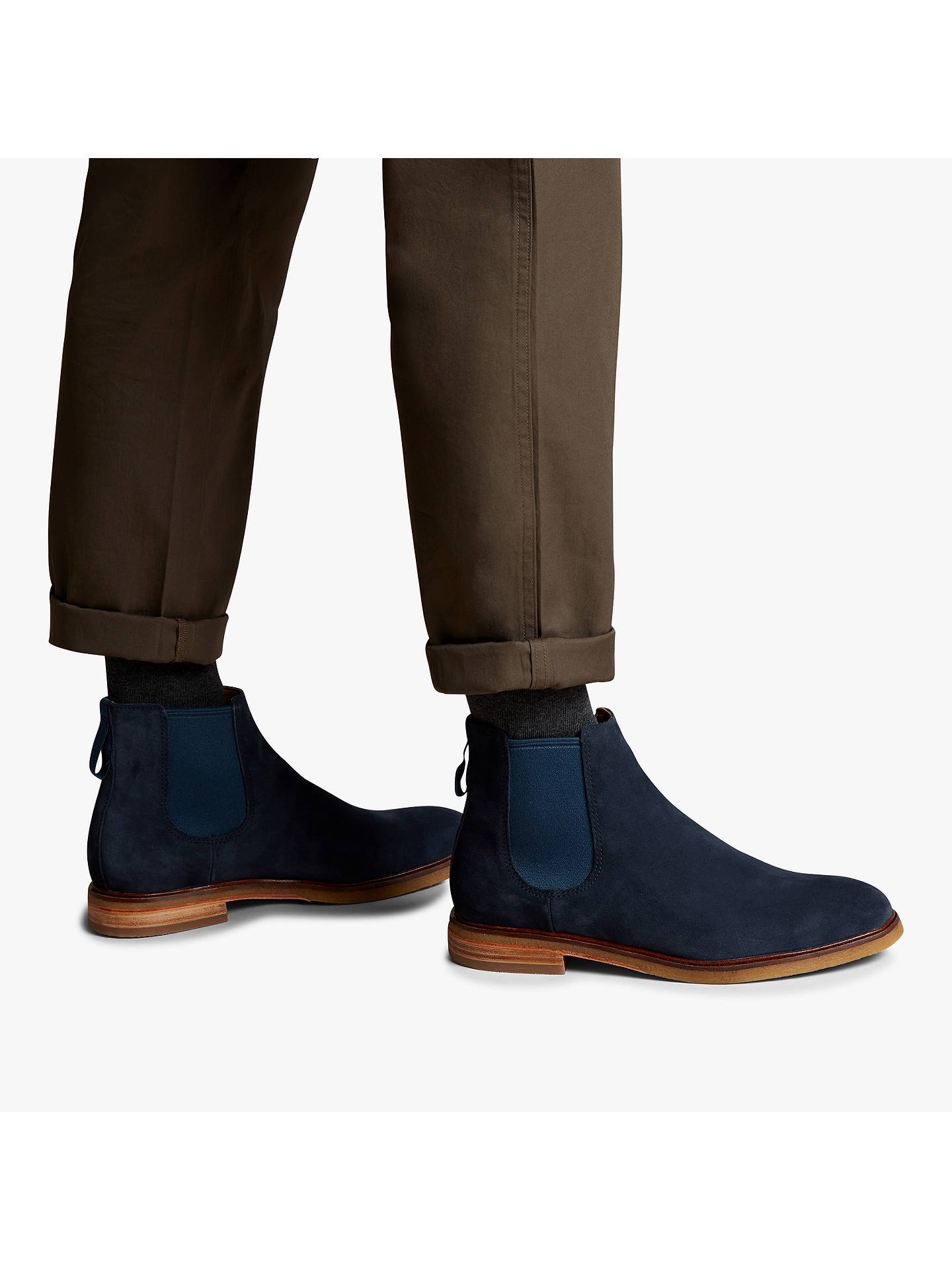 Clarks Clarkdale Gobi Suede Chelsea Boots at John Lewis