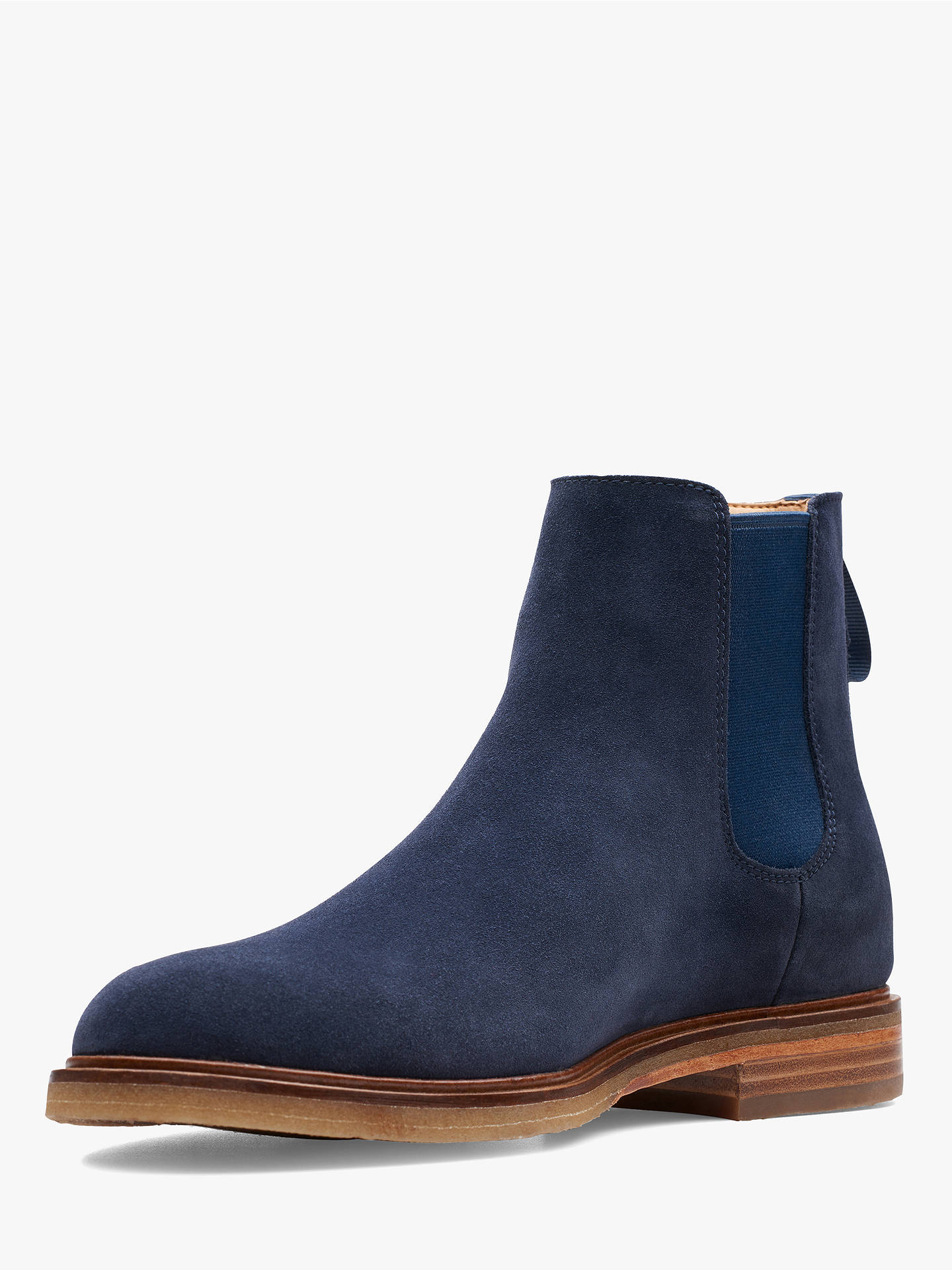 e1673477bf2231 Clarks Clarkdale Gobi Suede Chelsea Boots at John Lewis   Partners