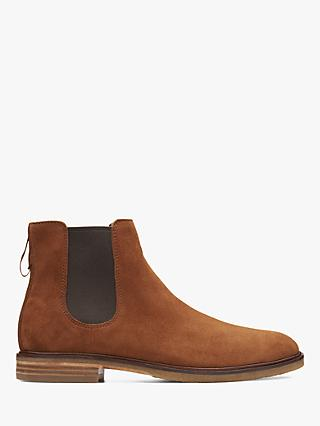 Clarks Clarkdale Gobi Suede Chelsea Boots