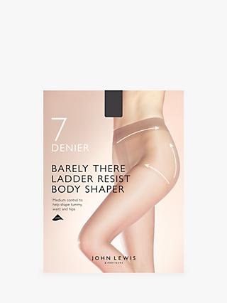 7ccecadd3 John Lewis   Partners 7 Denier Barely There Ladder Resist Body Shaper Tights