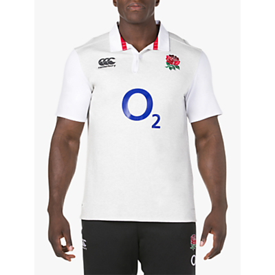 Image of Canterbury of New Zealand VapoDri England Home Rugby Jersey, White