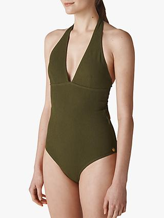 Whistles Klara Minimal Textured Swimsuit