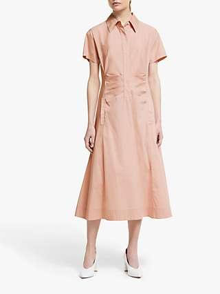Winser London Cotton Poplin Midi Dress