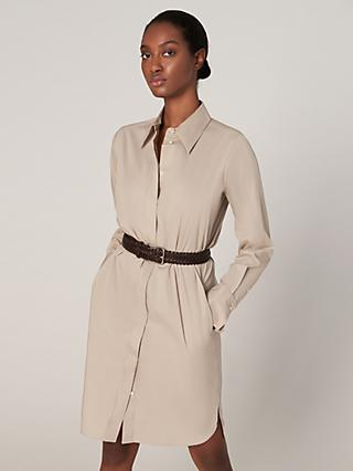 b64bd11e35 Winser London Cotton Blend Shirt Dress