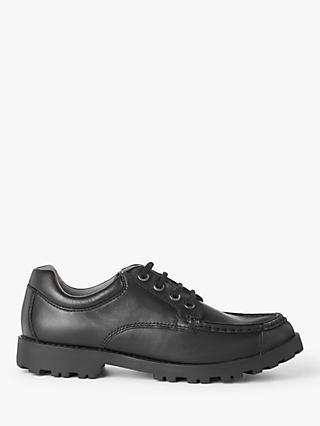 a1cb28e958cc John Lewis & Partners Children's Yorkshire Pie Crust Lace Up Shoes, Black