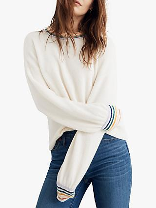 6a29e96f90f116 Madewell Rainbow Forget Me Not Jumper