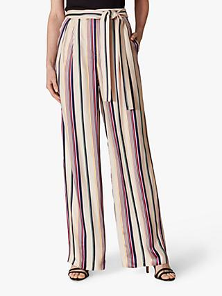 Karen Millen Stripe Trousers, Multi