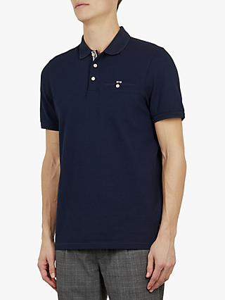 eb64e0bbd14ff8 Ted Baker Vardy Short Sleeve Textured Polo Shirt