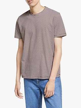 Kin Micro Stripe Crew Neck T-Shirt