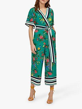 122f9fb4c5dd Warehouse Verity Floral Stripe Jumpsuit