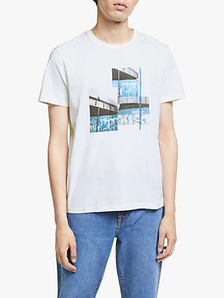 Kin Photo Print T-Shirt, White