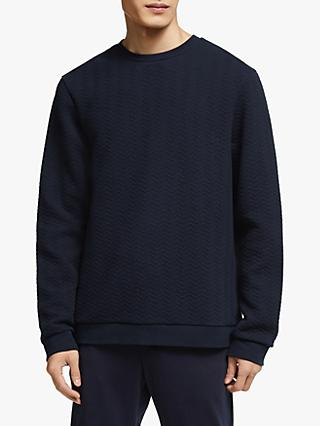 Kin Quilted Sweatshirt