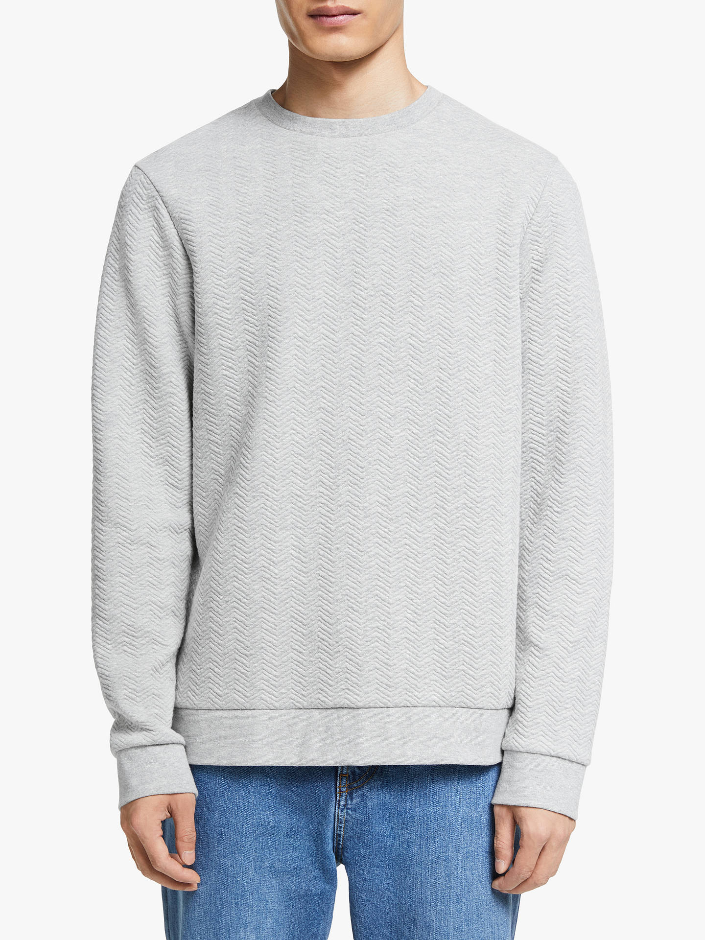 9e773b54d9 Kin Quilted Sweatshirt, Grey