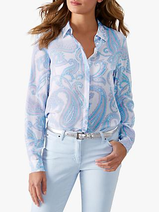 be1f6f3605c04d Pure Collection Relaxed Silk Blouse