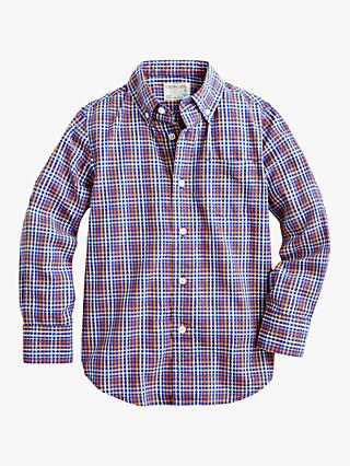 crewcuts by J.Crew Poplin Shirt, Blue