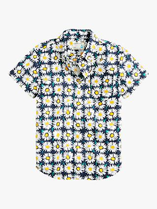 crewcuts by J.Crew Boys' Daisy Print Shirt, Blue
