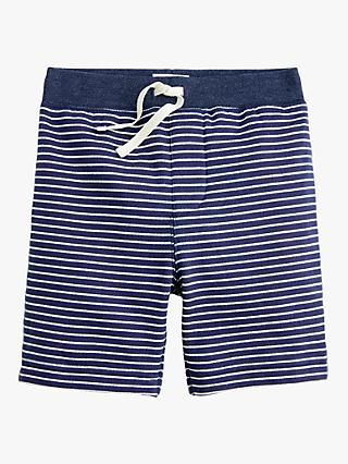 crewcuts by J.Crew Boys' Knitted Stripe Shorts, Navy