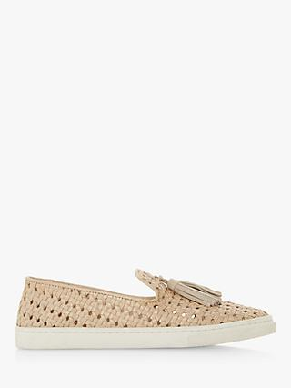 2987e40f4df Bertie Edna Woven Tassel Loafers