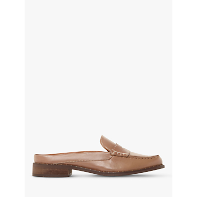 Bertie Greenland Backless Loafers