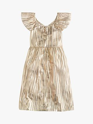 crewcuts by J.Crew Girls' Shimmer Dress, Gold
