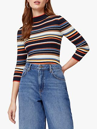 Warehouse Stripe Jumper, Multi