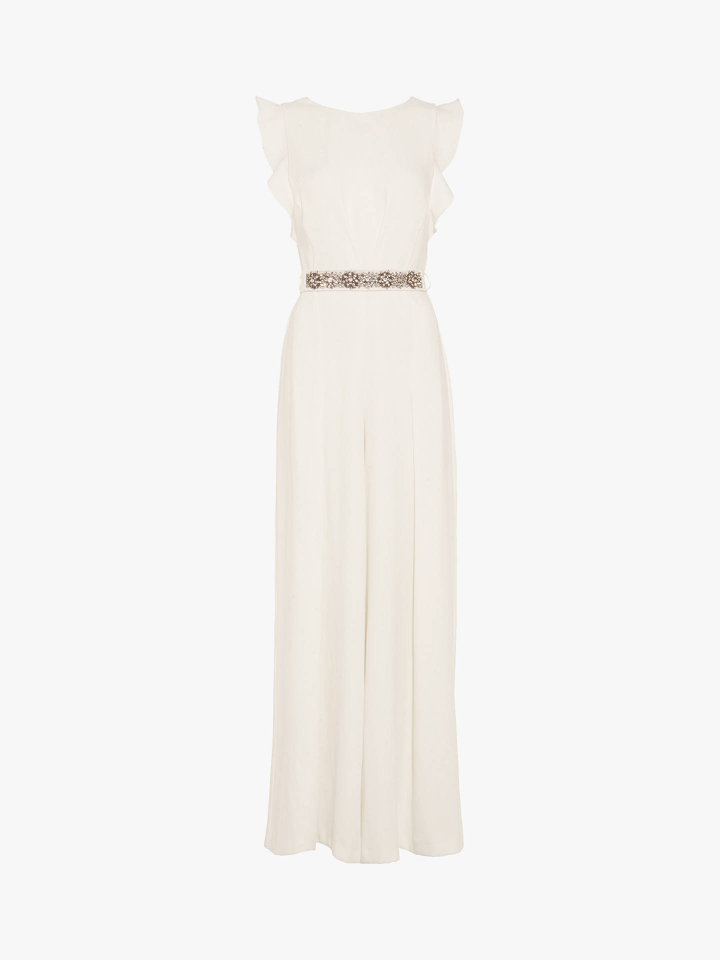 Buy Phase Eight Victoriana Jumpsuit, Cream, 12 Online at johnlewis.com