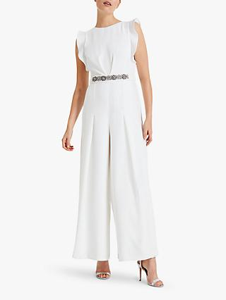 Phase Eight Victoriana Jumpsuit, Cream