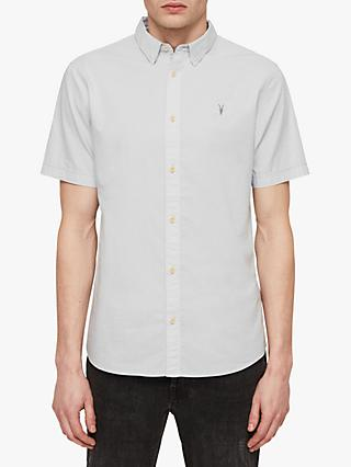 d9aaa83ab826 AllSaints Lester Slim Fit Short Sleeve Shirt