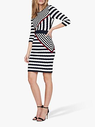 Damsel in a Dress Orianne Stripe Dress, Multi